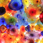Glass Flower Ceiling by Chihuly